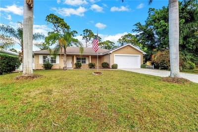 Bonita Springs Single Family Home For Sale: 4618 Sierra Ln