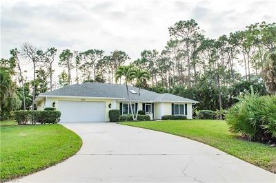 Naples Single Family Home For Sale: 2207 Majestic Ct S