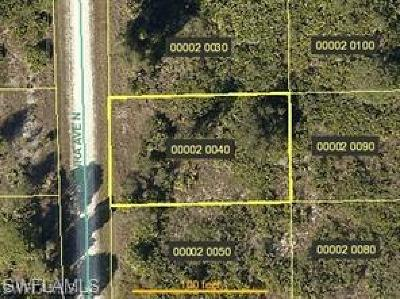 Lee County Residential Lots & Land For Sale: 6004 Laura Ave N