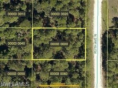 Lee County Residential Lots & Land For Sale: 4603 Ruth Ave N