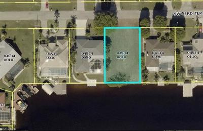 Lee County Residential Lots & Land For Sale: 712 SW 53rd Ter