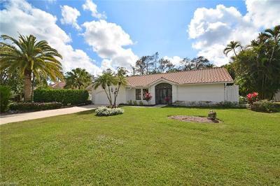 Naples Single Family Home For Sale: 1452 Foxfire Ln