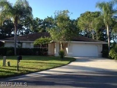 Naples Rental For Rent: 6792 Weatherby Ct