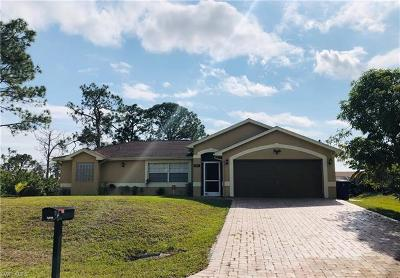 Lehigh Acres Single Family Home For Sale: 3013 8th St W