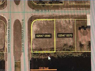 Cape Coral Residential Lots & Land For Sale: 2 NE 20th St
