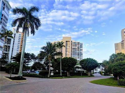 Naples Condo/Townhouse Pending With Contingencies: 4301 Gulf Shore Blvd N #501