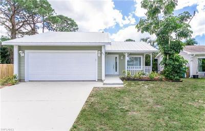 Naples Park Single Family Home For Sale: 866 101st Ave N