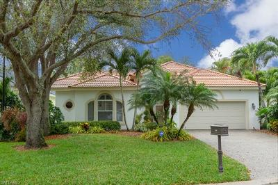 Naples Single Family Home Pending With Contingencies: 180 Spring Lake Cir