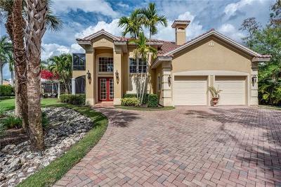 Naples Single Family Home For Sale: 556 Eagle Creek Dr