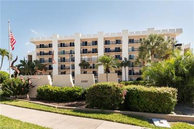 Condo/Townhouse For Sale: 3500 Gulf Shore Blvd N #107