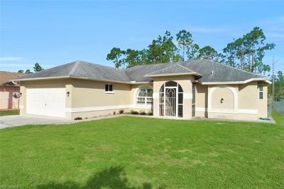 Naples Single Family Home For Sale: 4470 12th St NE