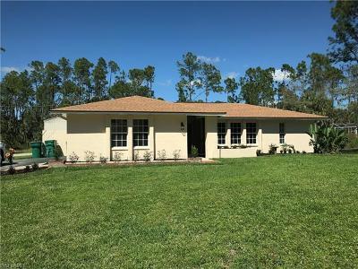 Golden Gate City, Golden Gate Estates, Golden Gate Prof Bldg Single Family Home Pending With Contingencies: 3695 19th Ave SW