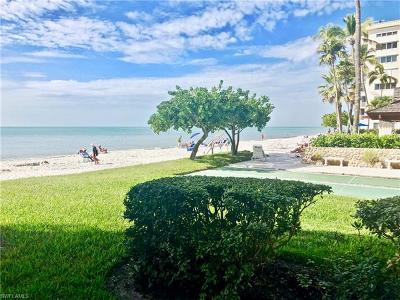 Bonita Springs, Fort Myers Beach, Marco Island, Naples, Sanibel, Cape Coral Condo/Townhouse Pending With Contingencies: 3443 Gulf Shore Blvd N #116