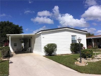 Goodland, Marco Island, Naples, Fort Myers, Lee Mobile/Manufactured For Sale: 549 Charlemagne Blvd