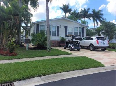 Goodland, Marco Island, Naples, Fort Myers, Lee Mobile/Manufactured For Sale: 1187 Silver Lakes Blvd
