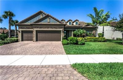 Naples Single Family Home For Sale: 16163 Cartwright Ln