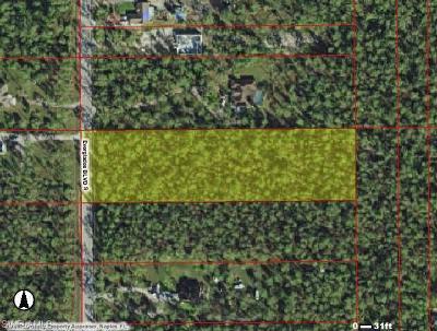 Golden Gate Estates Residential Lots & Land For Sale: Everglades Blvd