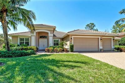 Naples Single Family Home For Sale: 383 Saddlebrook Ln