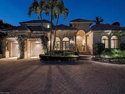 Naples FL Single Family Home For Sale: $4,750,000