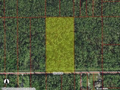 Naples Residential Lots & Land For Sale: 10th Ave NE