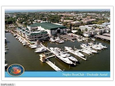 Naples Boat Slip For Sale: 891 10th St S