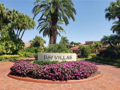 Collier County, Lee County, Charlotte County, Sarasota County, Manatee County Condo/Townhouse For Sale: 557 Bay Villas Ln