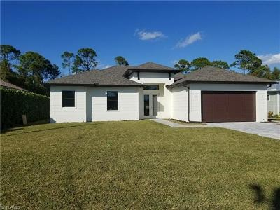 Bonita Springs Single Family Home For Sale: 3554 McComb Ln