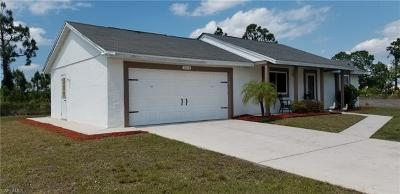 Lehigh Acres Single Family Home Pending With Contingencies: 2204 Bunker Rd
