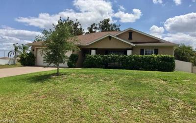 Cape Coral Single Family Home For Sale: 124 NW 14th St