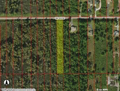Collier County Residential Lots & Land For Sale: 39th Ave NE