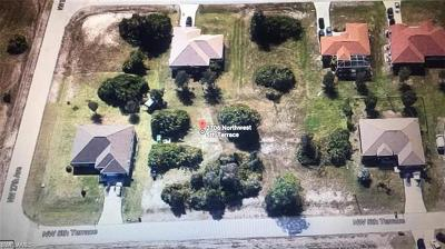 Lee County Residential Lots & Land For Sale: 2706 NW 5th Ter