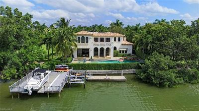 Naples, Marco Island, Sanibel, Captiva, Sarasota, Longboat Key, Nokomis, Osprey, Boca Grande Single Family Home For Sale: 270 & 250 Springline Dr