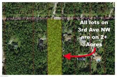 Collier County Residential Lots & Land For Sale: 3rd Ave NW