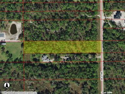 Collier County Residential Lots & Land For Sale: 44th St NE