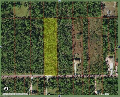 Naples Residential Lots & Land For Sale: 40th Ave SE