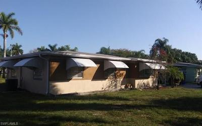 Fort Myers Single Family Home For Sale: 3923 Seminole Ave