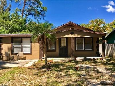 Naples Single Family Home For Sale: 3203 Woodside Ave
