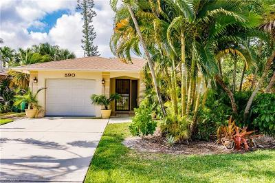 Naples Park Single Family Home For Sale: 590 104th Ave N