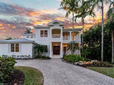 Naples Single Family Home For Sale: 428 Rudder Rd