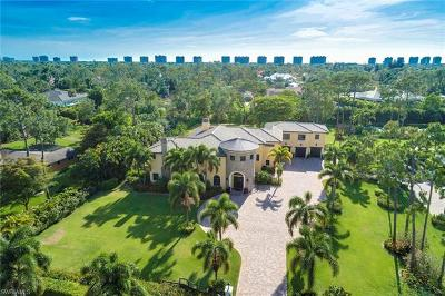 Naples, Sarasota Single Family Home For Sale: 663 Hickory Rd