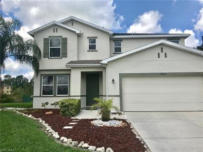 Lehigh Acres Single Family Home For Sale: 8491 Gassner Way