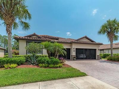 Naples Single Family Home For Sale: 3841 Treasure Cove Cir