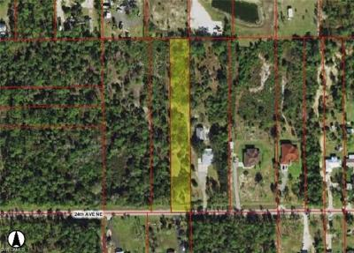 Naples Residential Lots & Land For Sale: 1750 24th Ave NE
