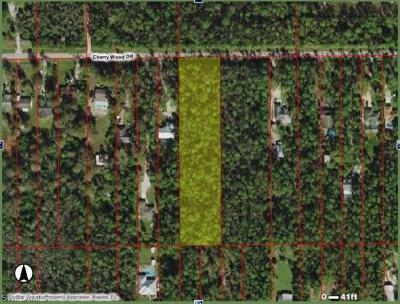 Residential Lots & Land For Sale: Cherry Wood Dr