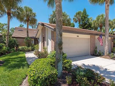 Naples Condo/Townhouse For Sale: 163 Cypress View Dr