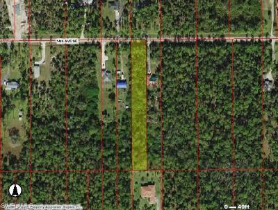 Collier County Residential Lots & Land For Sale: Xxxx 14th Ave