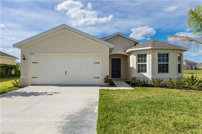 Lehigh Acres Single Family Home For Sale: 8320 Tortoise Isle Ct