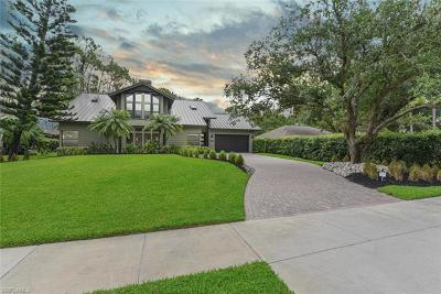 Naples Single Family Home For Sale: 5700 Waxmyrtle Way