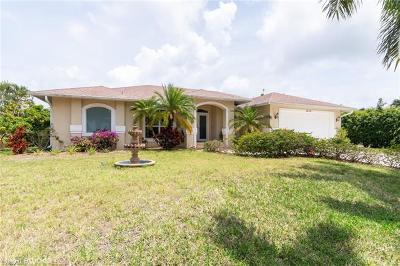Marco Island Single Family Home For Sale: 1476 Honeysuckle Ave