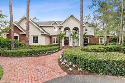 Naples, Marco Island Single Family Home For Sale: 6760 Sable Ridge Ln